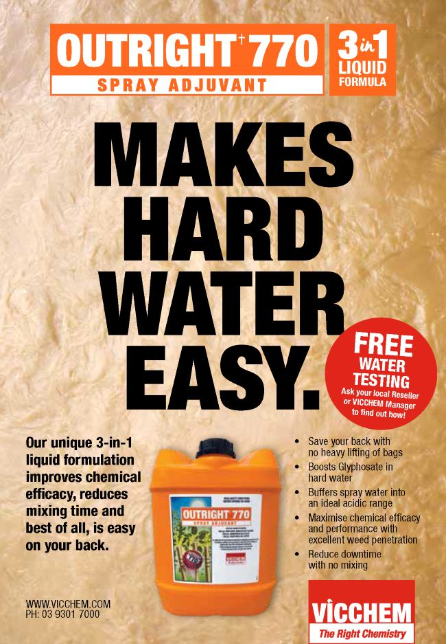 Outright 770 Makes Hard Water Easy