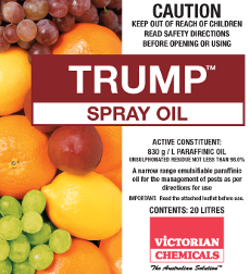 Image of TRUMP SPRAY OIL
