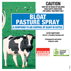BLOAT PASTURE SPRAY